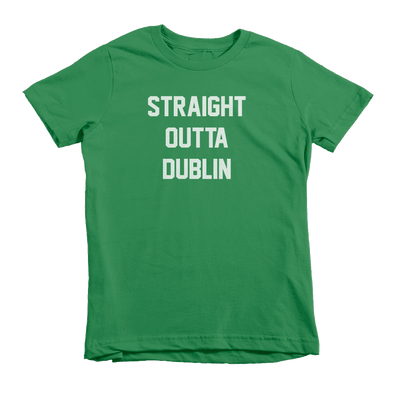 Straight Outta Dublin St. Patrick's Day The T-Shirt Deli, Co. Large