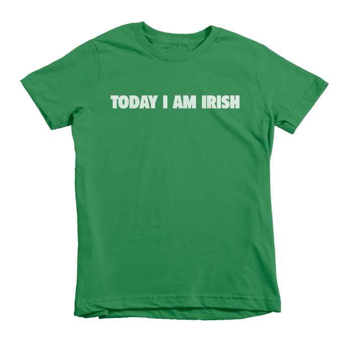 Today I Am Irish St. Patrick's Day The T-Shirt Deli, Co. Large