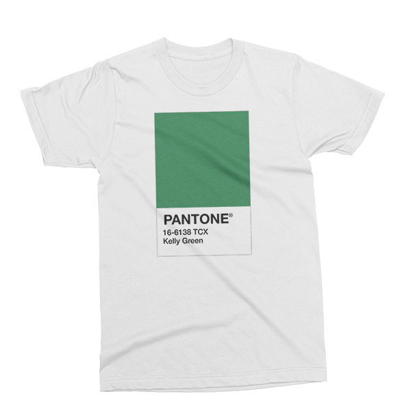Pantone Kelly Green St. Patrick's Day The T-Shirt Deli, Co. EXTRA SMALL