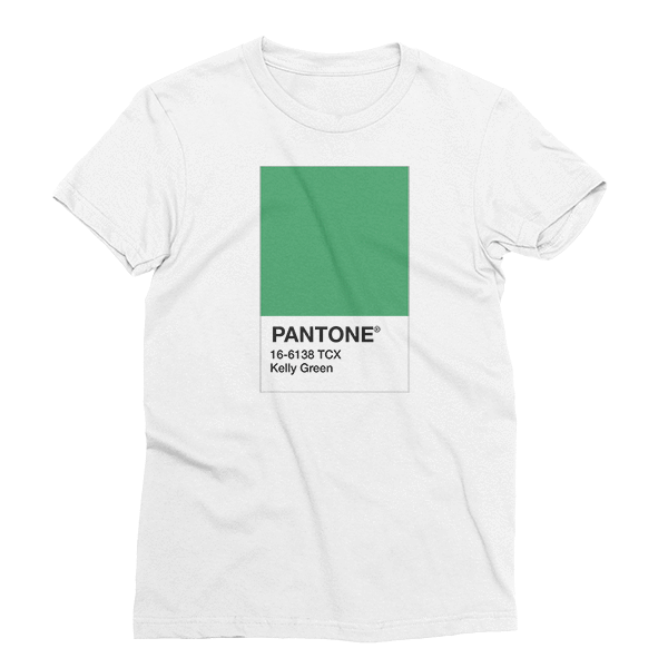 Pantone Kelly Green St. Patrick's Day The T-Shirt Deli, Co. SMALL