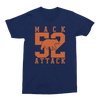 Mens/Unisex Mack Attack Mens Crew The T-Shirt Deli, Co. EXTRA SMALL Navy