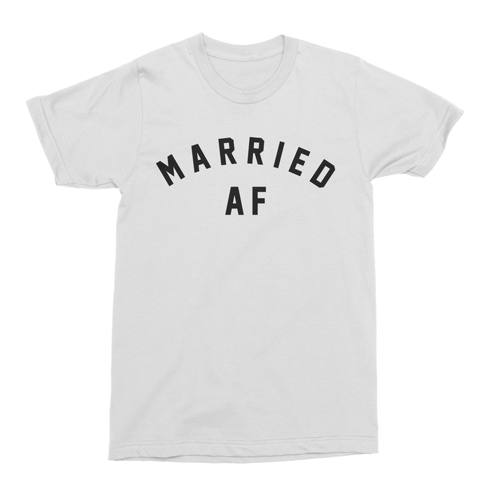 Mens/Unisex Married AF Mens Crew The T-Shirt Deli, Co. XS