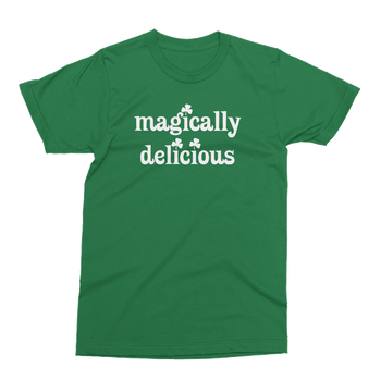 Magically Delicious St. Patrick's Day The T-Shirt Deli, Co. 2 EXTRA LARGE