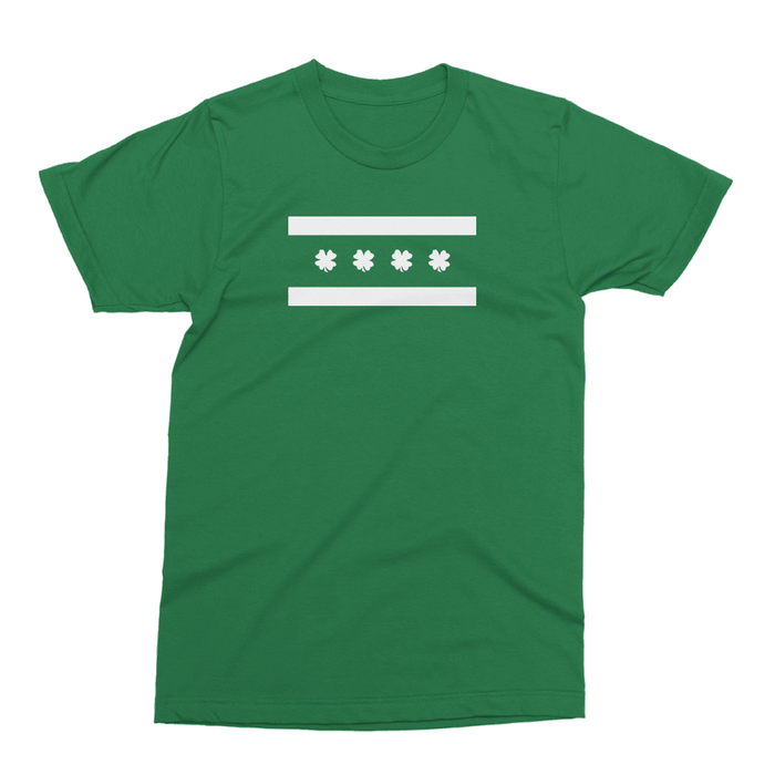 Chicago Irish Flag St. Patrick's Day The T-Shirt Deli, Co. 2 EXTRA LARGE