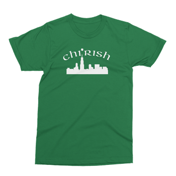 Chi Rish St. Patrick's Day The T-Shirt Deli, Co. 2 EXTRA LARGE