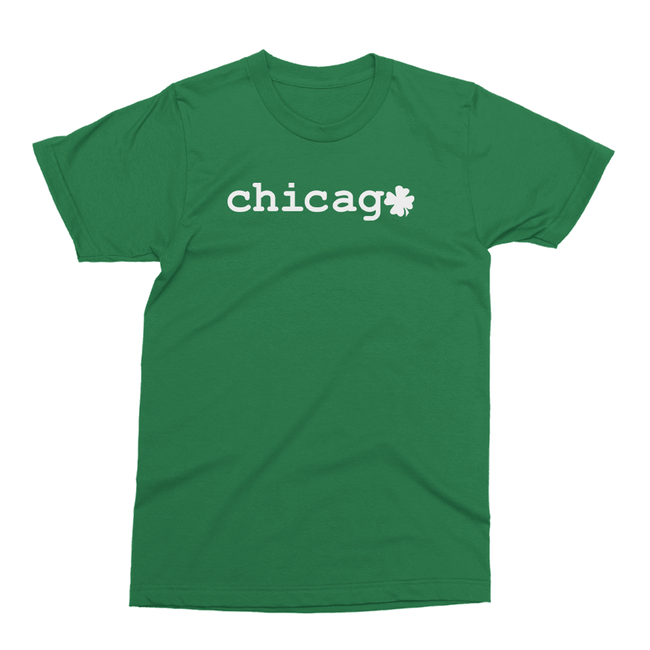 Chicago Shamrock St. Patrick's Day The T-Shirt Deli, Co. 2 EXTRA LARGE
