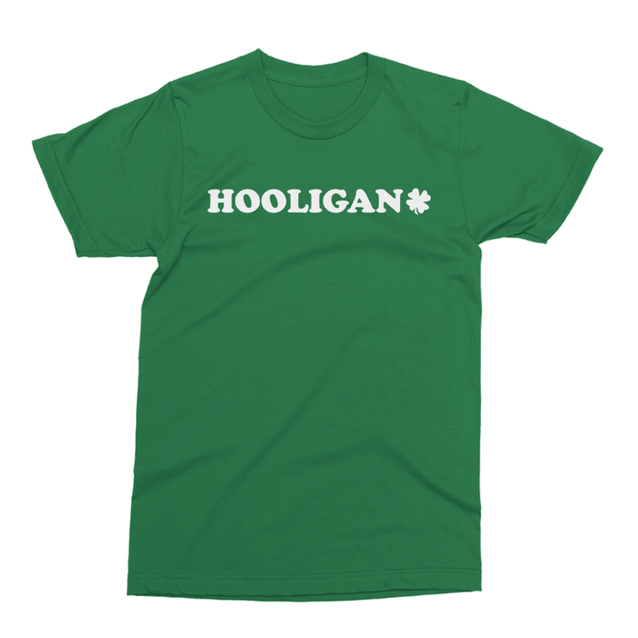 Hooligan St. Patrick's Day The T-Shirt Deli, Co. EXTRA LARGE