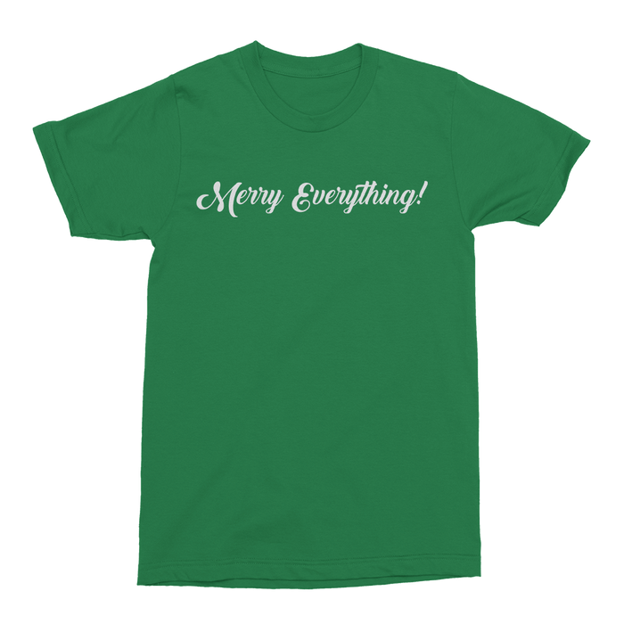 Merry Everything Mens Crew The T-Shirt Deli, Co. S