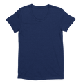 Womens Navy Custom T-Shirt