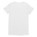 Womens WhiteCustom T-Shirt Back
