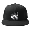 Bottles Up! Snapback Hat w/ B&W Logo
