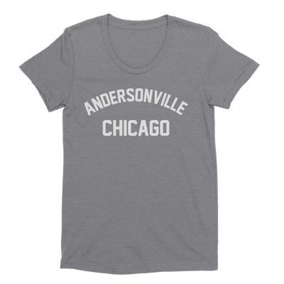 Womens Andersonville Womens Scoop Neck The T-Shirt Deli, Co. EXTRA LARGE
