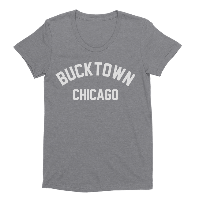 Womens Bucktown Womens Scoop Neck The T-Shirt Deli, Co. EXTRA LARGE