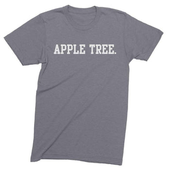 Mens/Unisex Apple Tree Mens Crew The T-Shirt Deli, Co. LARGE
