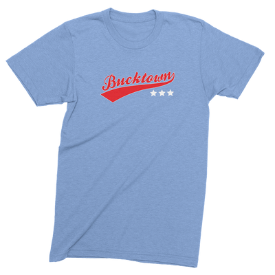 Mens/Unisex Bucktown Stars Mens Crew The T-Shirt Deli, Co. EXTRA SMALL