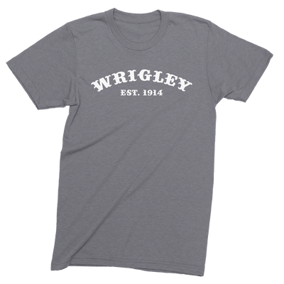Mens/Unisex Wrigley Est. 1914 The T-Shirt Deli, Co. LARGE