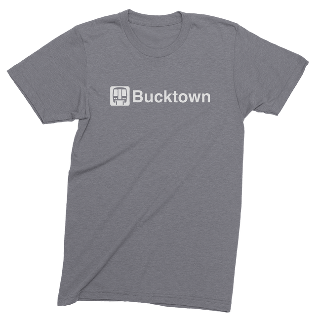 Mens/Unisex Bucktown El Mens Crew The T-Shirt Deli, Co. LARGE