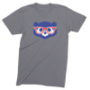 Mens/Unisex Cubs Maddon Face Mens Crew The T-Shirt Deli, Co. LARGE