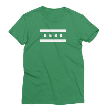 Chicago Irish Flag St. Patrick's Day The T-Shirt Deli, Co. EXTRA LARGE