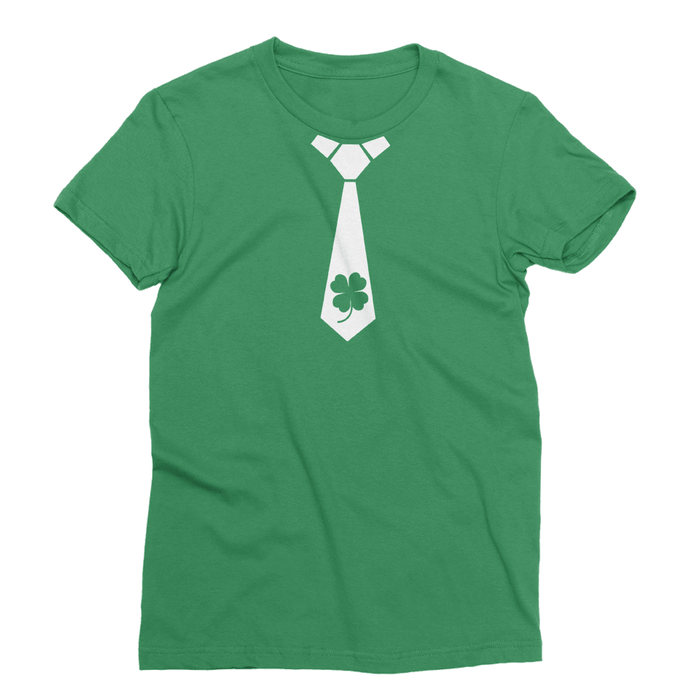 Shamrock Tie St. Patrick's Day The T-Shirt Deli, Co. EXTRA LARGE