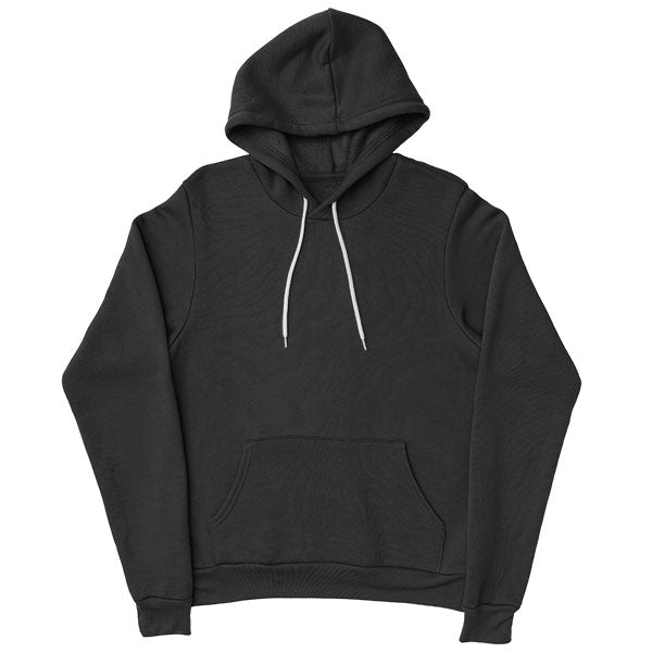 Design your own custom pullover hoodie black