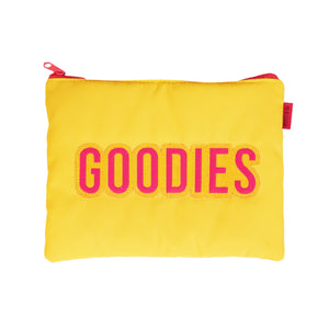 YELLOW GOODIES BEAUTY POUCH