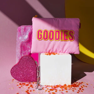 PINK GOODIES BEAUTY POUCH