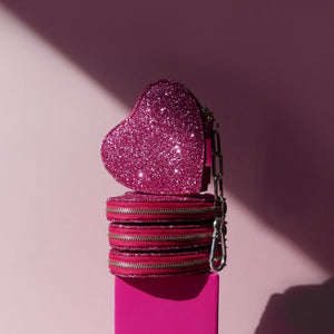 GLITTER SWEETHEART COIN PURSE