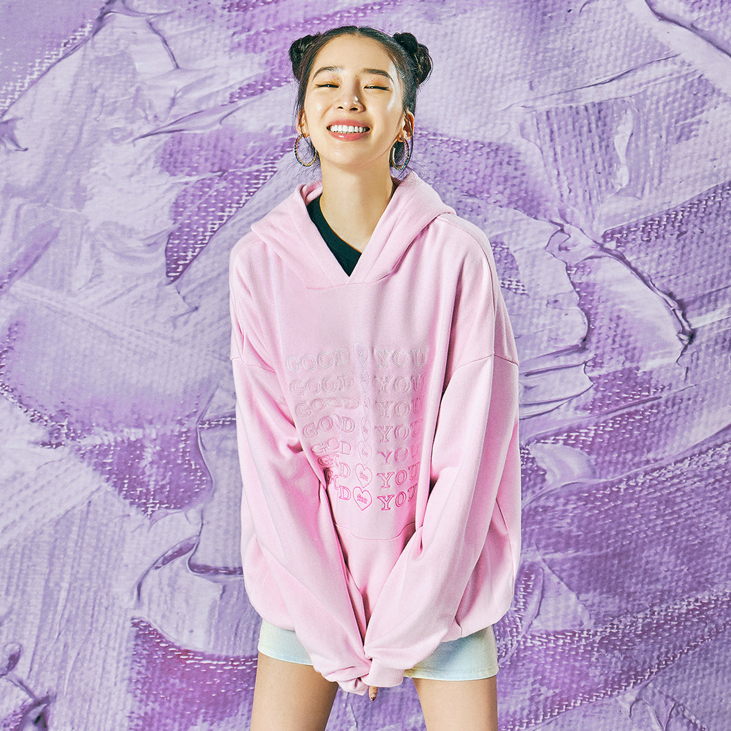 SUMMER EDITION GOODFORYOU HEART HOODIE