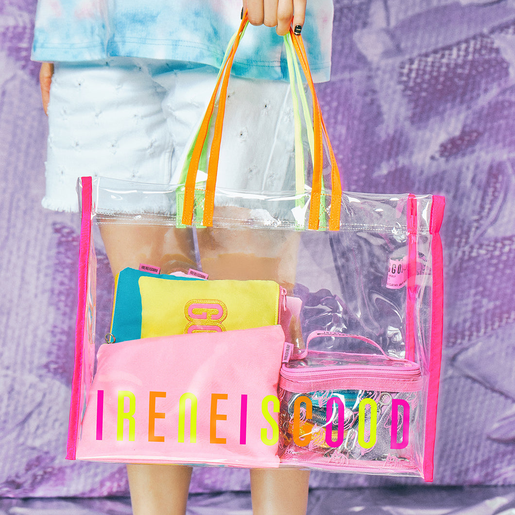 BUBBLE POP NEON PVC BAG