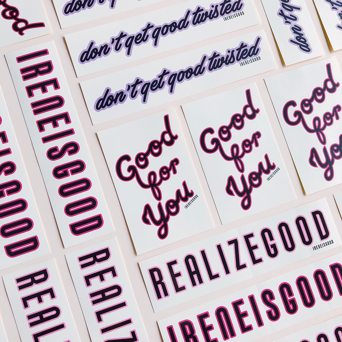 GOOD FOR YOU STICKERS