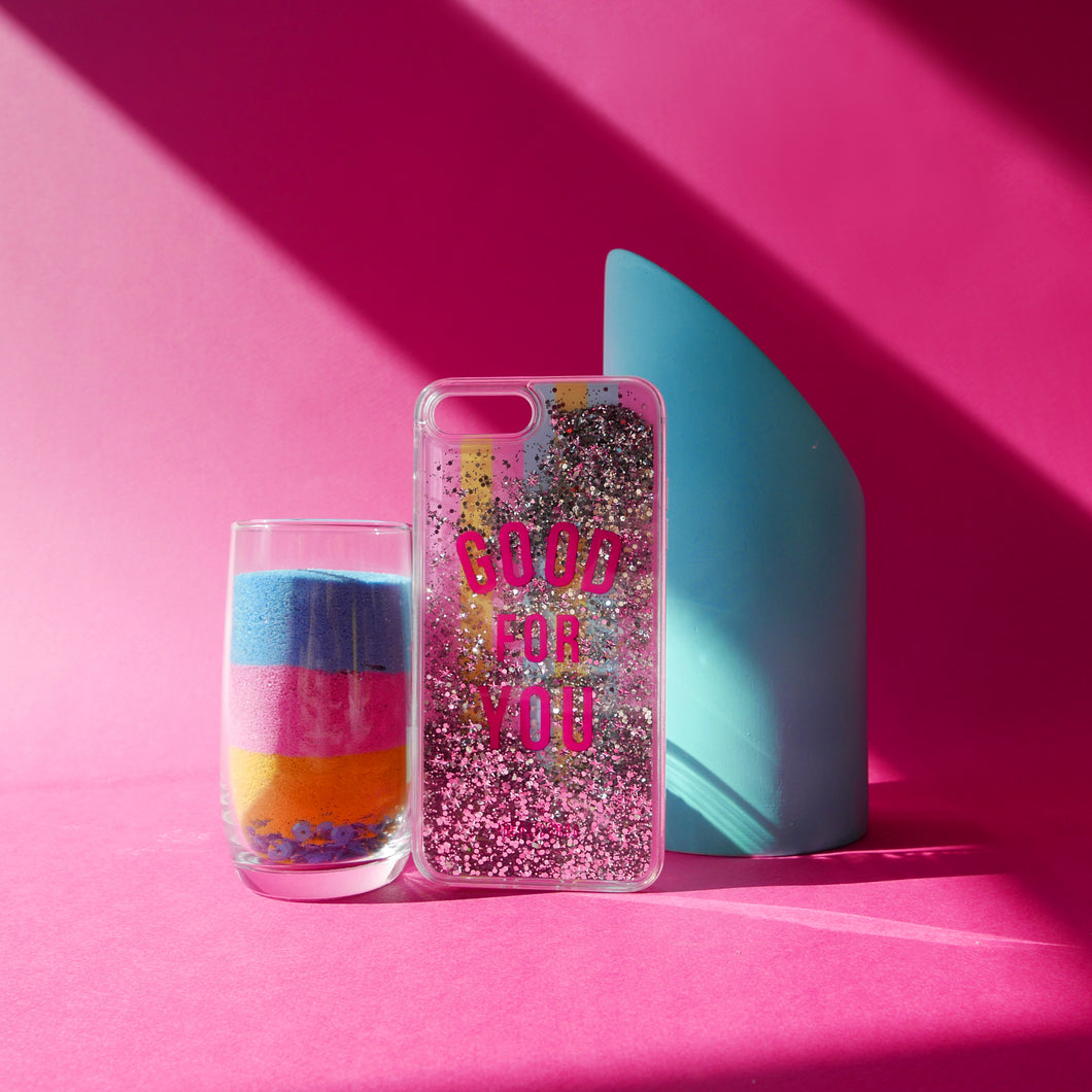 GOODFORYOU GLITTER PHONE CASE