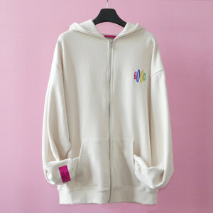 REALIZE GOOD ZIP-UP HOODIE