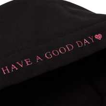 Load image into Gallery viewer, HOLIDAY GOODFORYOU GLITTER HEART HOODIE [PINK]