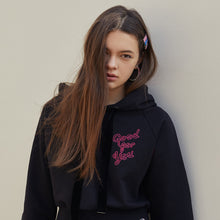 Load image into Gallery viewer, #GOODFORYOU CROP HOODIE