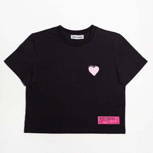 """DIFFERENT IS GOOD"" CROP T-SHIRT"