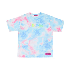 SUMMER VIBES ONLY TIE-DYE T