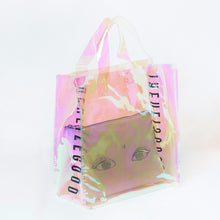 Load image into Gallery viewer, HOLOGRAM REALIZE GOOD BEAUTY TOTE