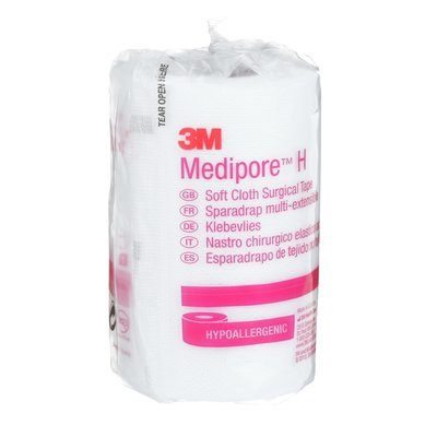 3M™ Medipore™ Hypoallergenic Soft Cloth Medical Tape
