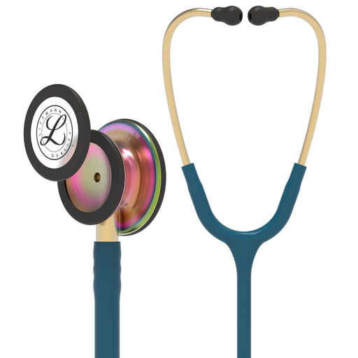 3M™ Littmann® Classic III™ Stethoscope Carribean Blue Rainbow 5807