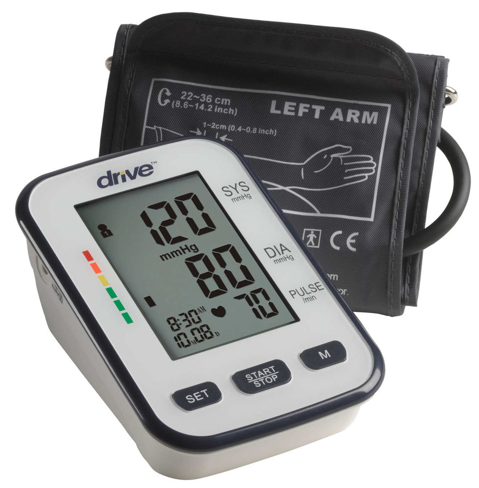 BP3400-Deluxe Automatic Upper Arm Blood Pressure Monitor with cuff