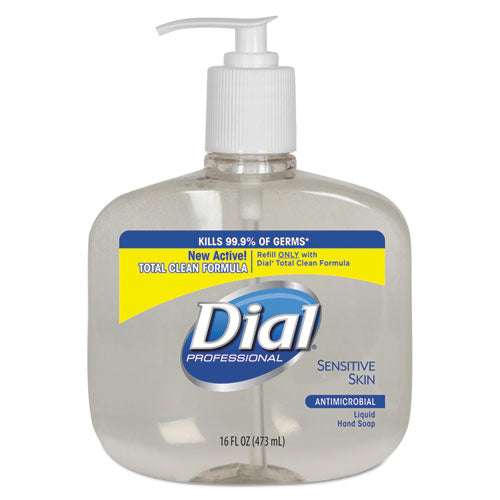 Dial® Sensitive Skin Antimicrobial Liquid Hand Soap