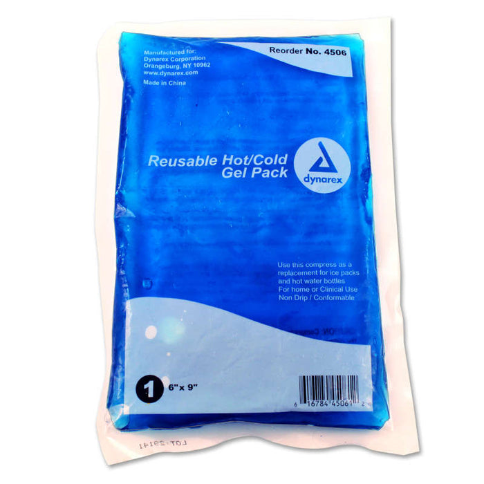 Dynarex Reusable Hot and Cold Gel Packs 4506