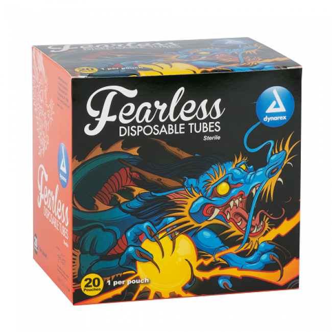 Fearless Tattoo Disposable Tubes Box