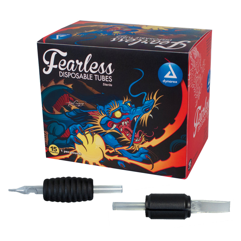 Fearless Tattoo Disposable Tubes