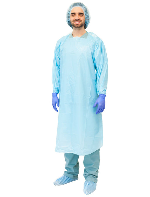 PRI·MED Overhead Protective Film Gown