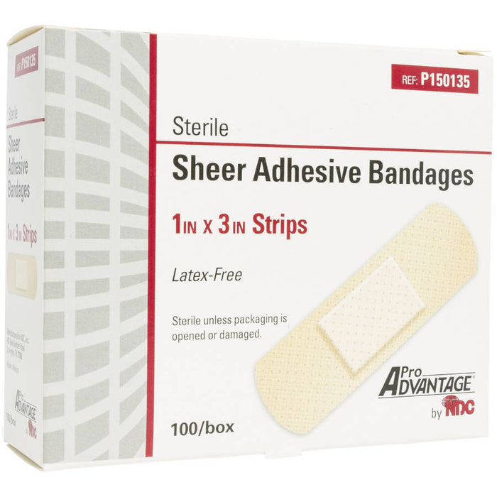 Pro Advantage Sheer Adhesive Bandages p150135