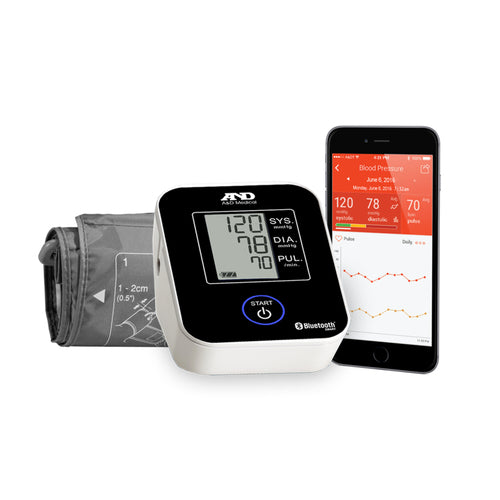Lifesource Premium Wireless Blood Pressure Monitor UA-651BLE-with-phone