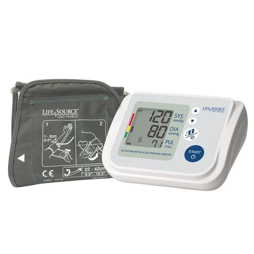 Lifesource Premium Muli-User Blood Pressure Monitor UA-767FAM