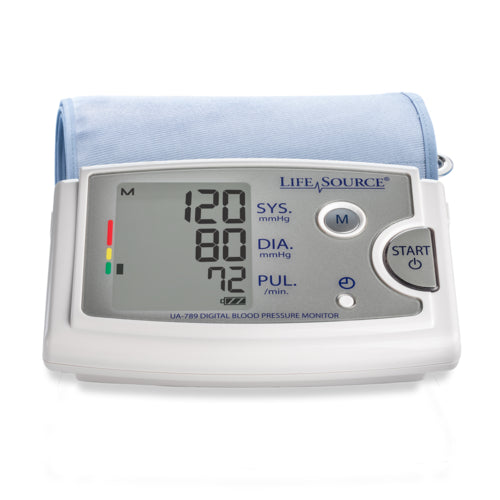 Lifesource® Premium Blood Pressure Monitor w/Extra Large Cuff UA-789AC